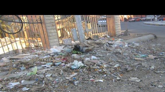 gospodarka śmieciowa pod kontrolą- centrum Hurghady