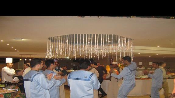 z zaskoczenia...wieczór egipski w restauracji
