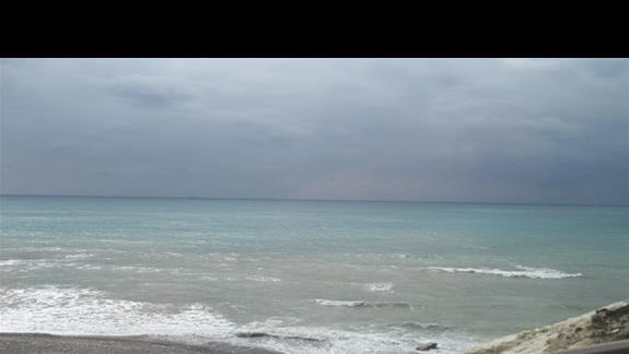 Paphos, okolice przy Skale Afrodyty.