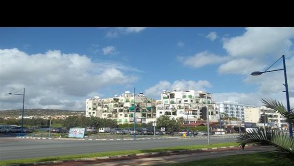 """""""Blok"""" tuż przy hotelu, Limassol."""