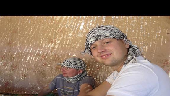 W beduińskiej wiosce na herbacie.