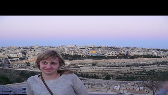Jerozolima widok z góry oliwnej