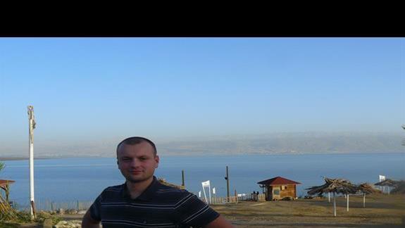 Widok na morze Martwe - zasolenie niesamowite ...