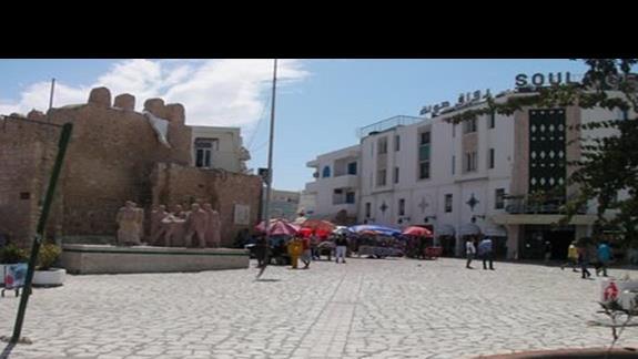 wejscie do medyny w Sousse