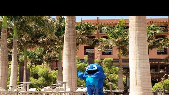 Panchi - maskotka hotelu Lopesan Baobab