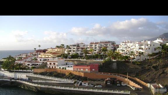 Miejscowosc Playa de Arena - jeden z przepieknych widoków
