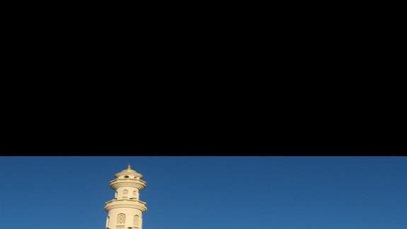 meczet w centrum Hurghady - warty zobaczenia