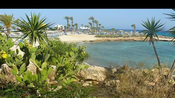 plaża sąsiadująca z Nissi Beach