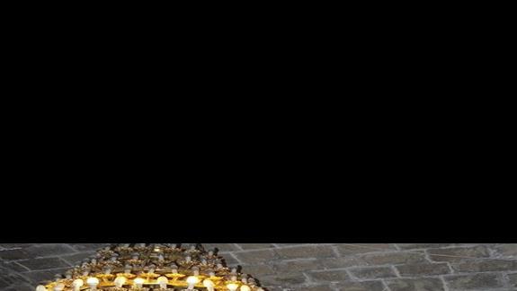 ikowny w kapliczce w monastyrze