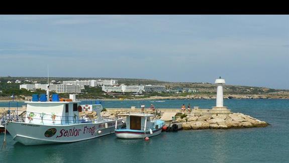 wyjście z portu