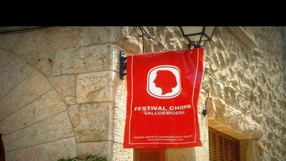 Valdemossa- miejscowość niedaleko Palma de Mallorca, gdzie przez kilka miesięcy przebywał Fryderyk Chopin.