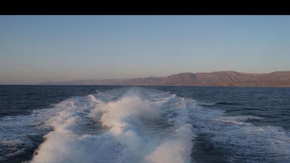 w drodze do Jordanii