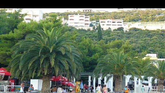 wybrzeże przy hotelu Neum