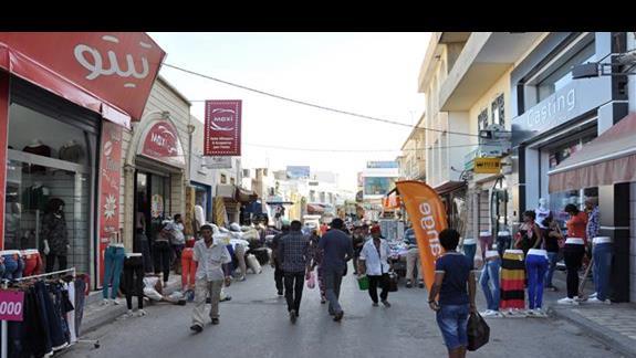 część Mediny z jej urokliwym bazarem