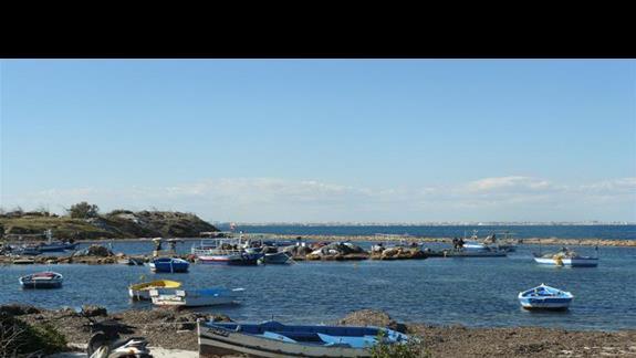 Zatoka rybacka pomiędzy Sentido a Monastyrem