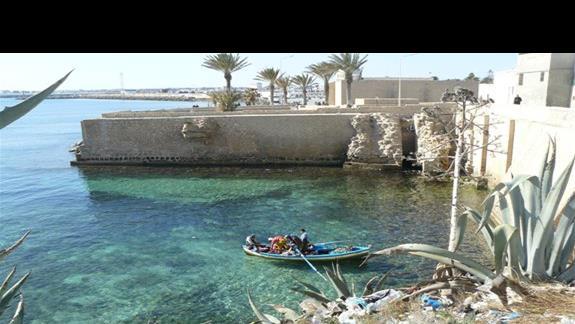 Rybacy w Machdii, najlepsza ośmiornica jest z grilla ;-)