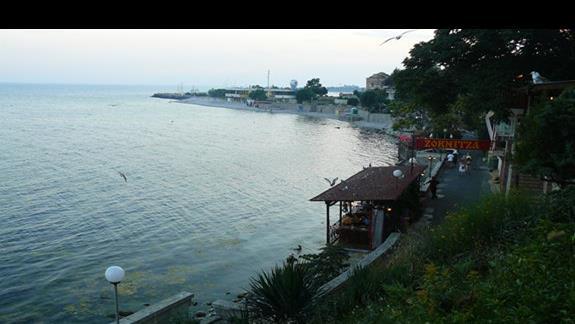 wiok na cypel wcinający się w morze - Stary Nasabar