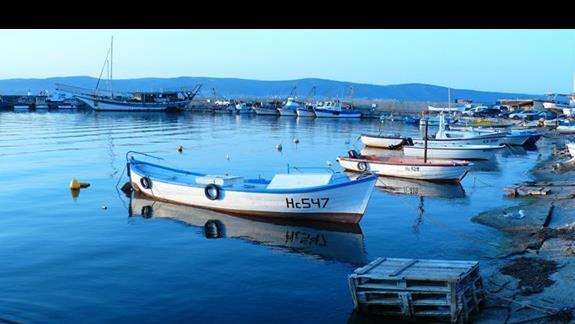 łodzie rybackie