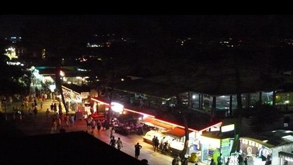 wiodk z balkonu hotelowego