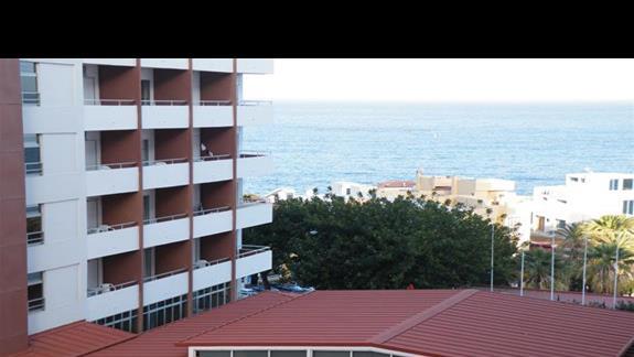 Widok z balkonu 5 pietra.