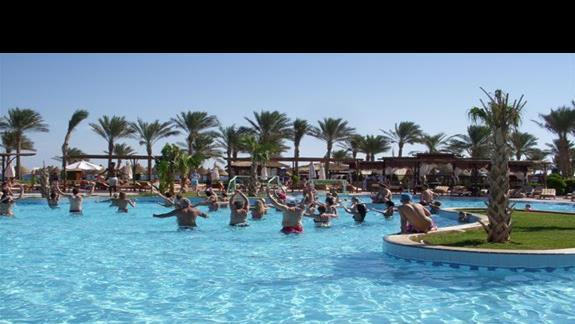Areobic, niestety basen był niepodgrzewany :(