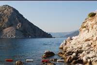 Hotel Turunc - Widok na morze z zatoki