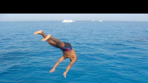 skok na głeboką wodę