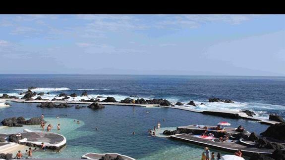 Atrakcje Madery: Piscinas Naturales w Porto Moniz