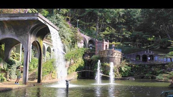 Atrakcje Madery: Ogrodód Tropikalny w pobliżu Monte