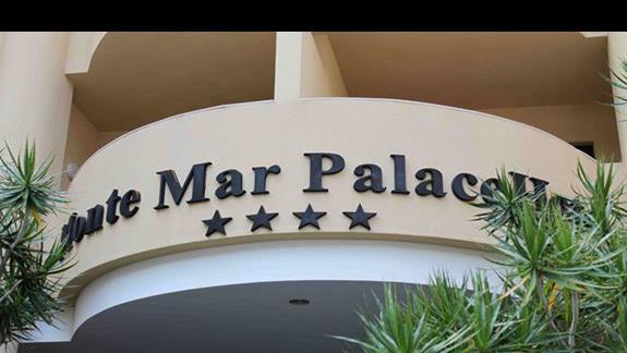 Hotel Monte Mar Palace: Widok od frontu