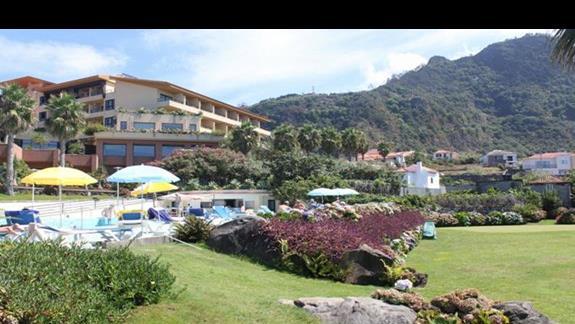 Hotel Monte Mar Palace: Widok od strony oceanu