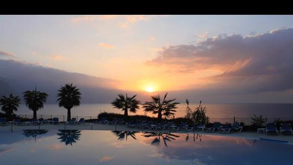 Hotel Monte Mar Palace: Przy zachodzie słońca