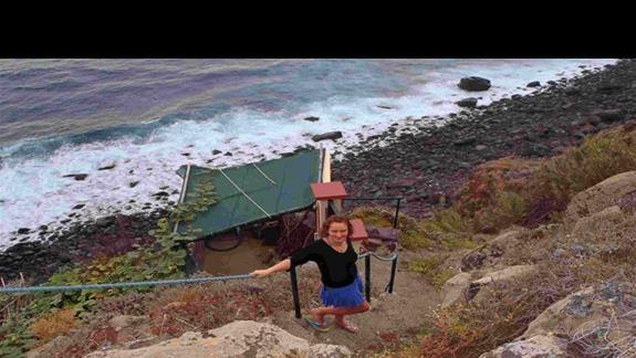 Ponta Delgada:Zejście do oceanu