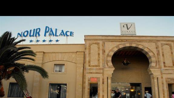 Nour Palace Resort Thalasso & Golf - wejście główne