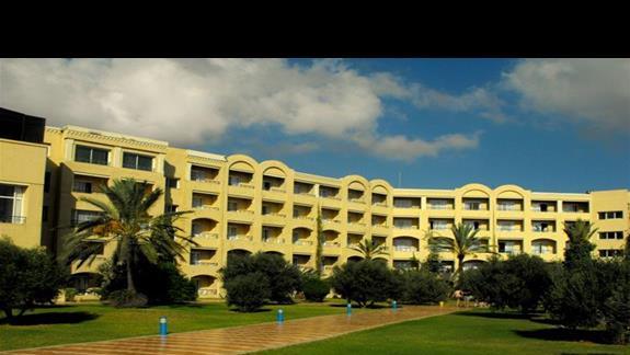 W Nour Palace jest ponad pięćset pokoi