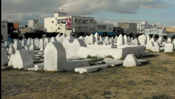 Tunezyjski cmentarz
