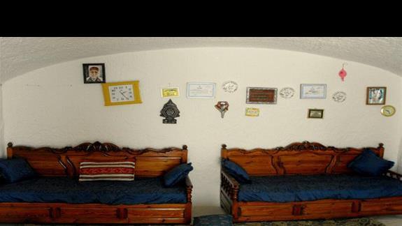 Wnętrze arabskiego domu - Mahdia