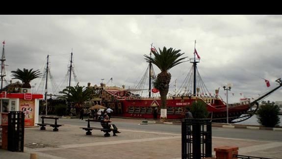 Nabrzeże w Sousse
