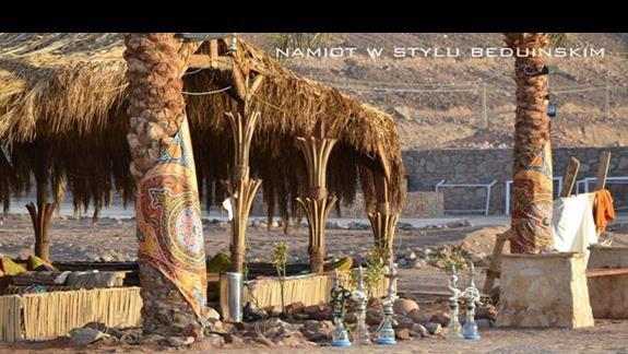 Namiot w stylu beduińskim