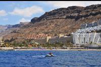 Hotel Paradise Costa Taurito - Widok z promu na Taurito