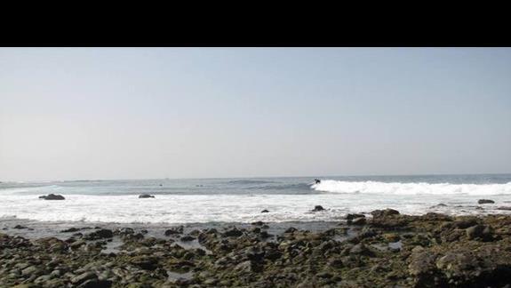 Miejsce szleństw surferów.