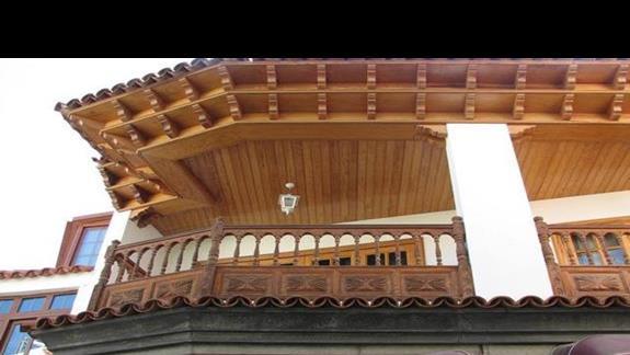 Piękny balkon (Puerto Santiago)