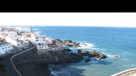 Widok na Puerto Santiago.