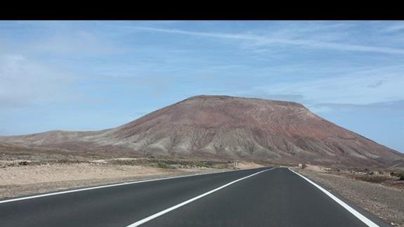 W drodze do Corralejo