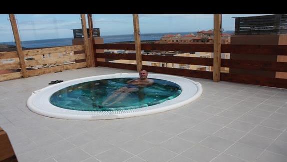 Relaks na dachu hotelu