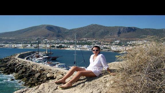 widok na port Hersonissos