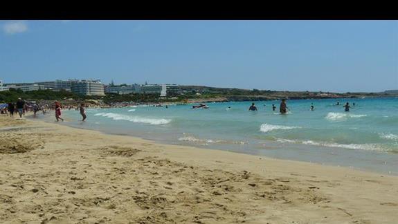 najdłuższa i najszersza plaża w miejscowości