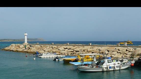 wyjście z portu Agia Napa