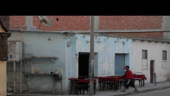 uliczna arabka kafejka Hurghada Dahar