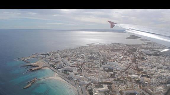 Dolatujemy do Tunezji, Monastir z lotu ptaka.